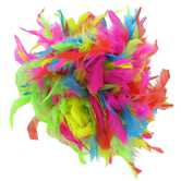 Hot Chandelle Mix Feather Boa - 6'